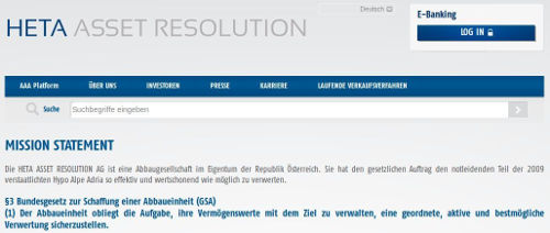 HETA Asset Resolution - Bildquelle Screenshot-Ausschnitt www.heta-asset-resolution.com