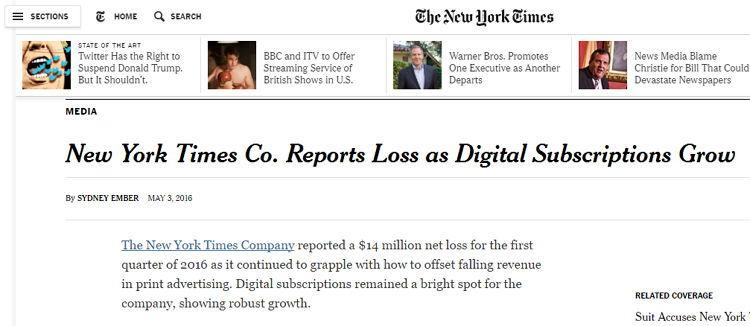 New York Times - Bildquelle: Screenshot-Ausschnitt www.nytimes.com