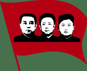 Nordkoreas Führer - Bildquelle: Wikipedia / Jgaray, Nicor, Coronades03, P388388, Oppashi, Creative Commons Attribution-Share Alike 4.0 International