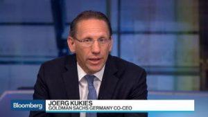 Jörg Kukies - Bildquelle: Screenshot-Ausschnitt Bloomberg