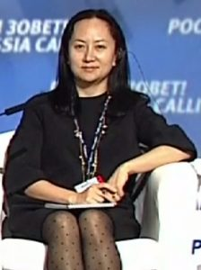 Meng Wanzhou - Bildquelle: Wikipedia / Russia Calling! Investment Forum; Creative Commons Attribution 4.0