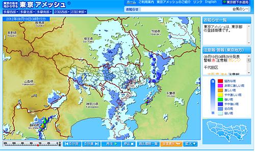 東京アメッシュ PC版