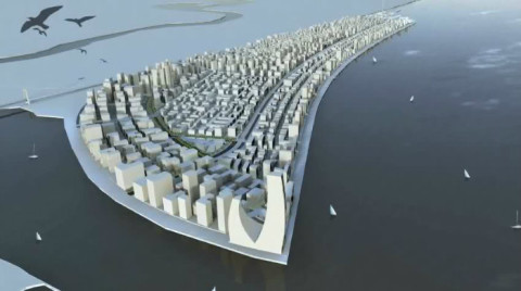Eko Atlantic City Model