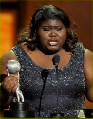 41st NAACP Image Awards - Show. Gabourey Sidibe