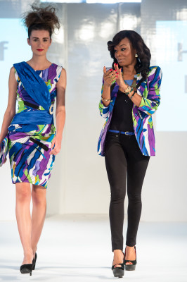 House of Nwocha collection at Africa Fashion Week London 2012