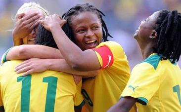 South African footballer Amanda Sinegugu Dlamini