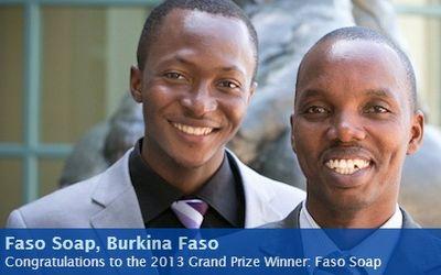 Moctar Dembele and Gerard Niyondiko Fasoap