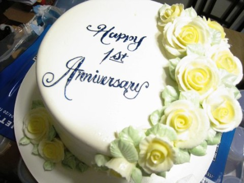 anniversary cake three happy cheers for konnect africa