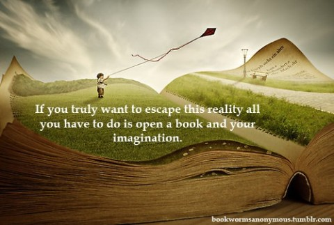 Open a book and your imagination...