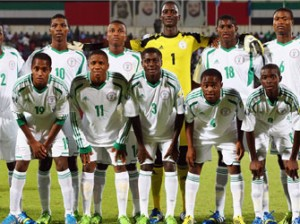 the victorious Golden Eaglets of Nigeria at the 2013 Under 17 World Cup