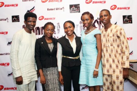 Kunle & Ife of A2W, Lovelyn, Jennifer & Arizechi