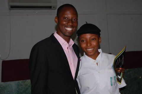 My Nigerian Star and a future leader.