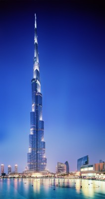 Burj Khalifa, Dubai; The World's tallest building @ 828m [2717ft]