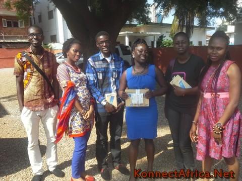 One More Picture for the Road! L-R: Charles Mensah, Jennifer Nkem-Eneanya, Umar Nazir, Mabel Blankson, Naa Achere, Lovelyn Okafor; behind the lens: Francis Addai