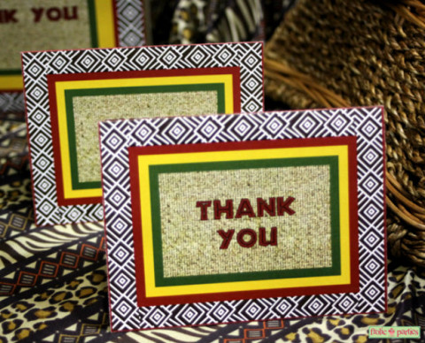 Thank You Note Africa