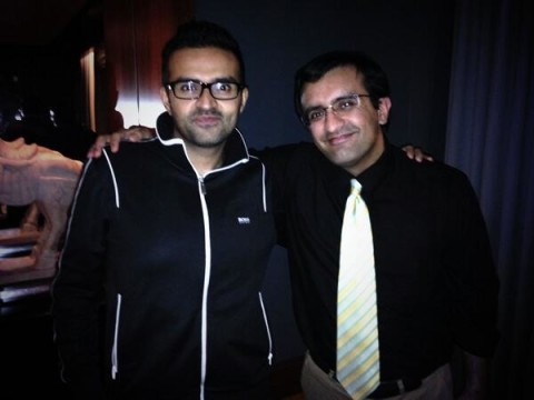 Ashish Thakkar[l] and Rajesh Punjabi[r] Source: Twitter.Com/RajPanjabi
