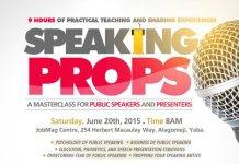 Speaking Antics