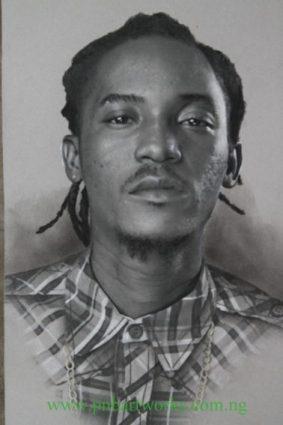 A Portrait of Jesse Jagz by PnBArtworks