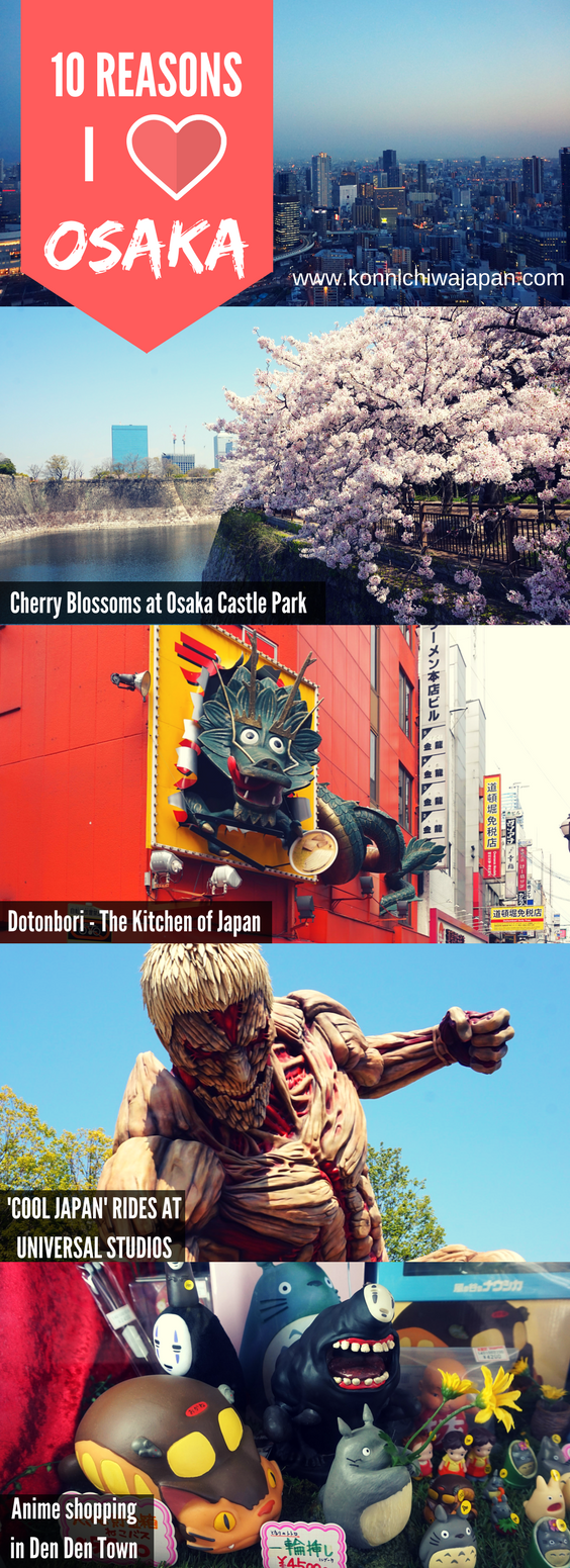 10 Reasons I Love Osaka