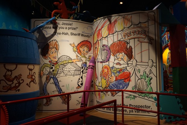 Inside the Toy Story Mania ride - 10 Reasons to Visit Tokyo Disney Sea