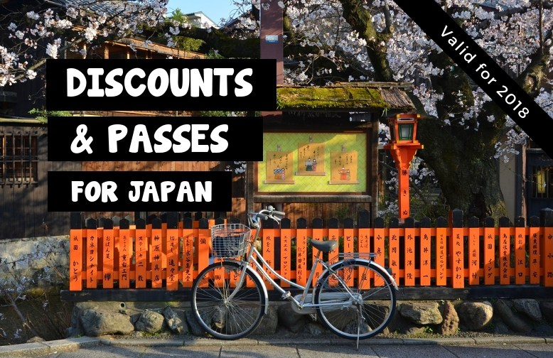 Discounts & Passes for Japan