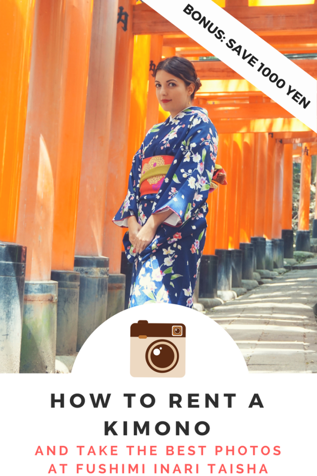 How to Rent a Kimono and Take the Best Photos at Fushimi Inari Taisha
