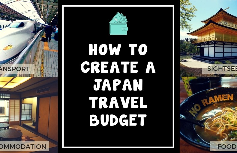 How to Create A Japan Travel Budget