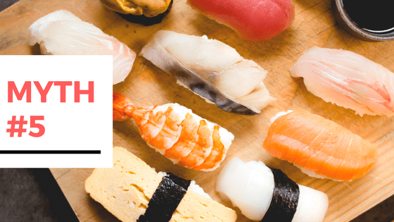 11 Myths Busted About Travelling to Japan - Myth #5 - I don't like seafood, will I be able to survive in Japan?