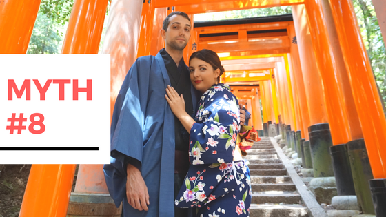 11 Myths Busted About Travelling to Japan - Myth #8 - Is it cultural appropriation if I wear a kimono?