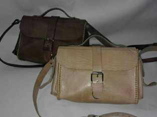 حقيبة يدوية جلدية