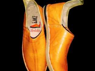 idoukan orange (البلغة باللون البرتقالي )