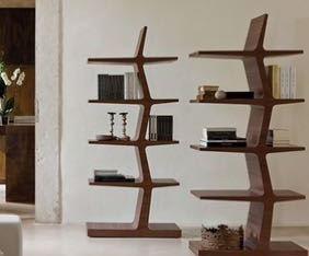 ستاندات خشبية لوضع الكتب والاكسسوارات