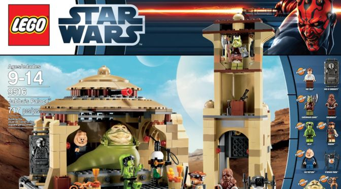 """Lego gibt nach – neue Verpackung für """"Jabbas Palace"""""""