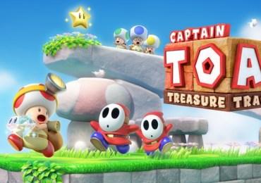 Captain Toad Treasure Tracker - Jump`n`Run ohne Jump?