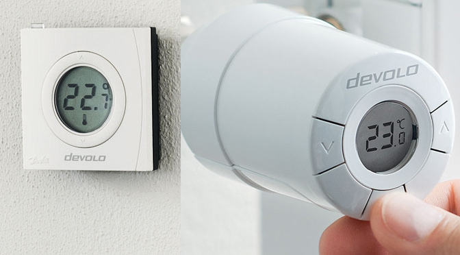 Hardwaretest Update: devolo Home Control heizt ein