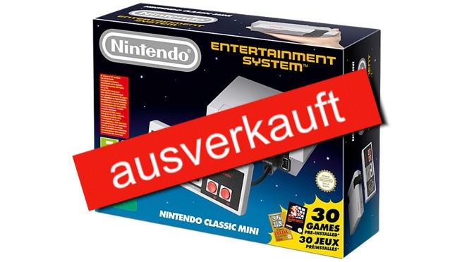 Nintendo Classic Mini - heute ist Release ... oder fast