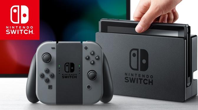 Nintendo Switch - da kommt einiges zusammen