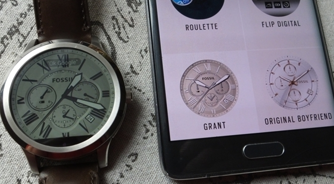 Hardwaretest: Fossil Q Founder – das Handy am Handgelenk