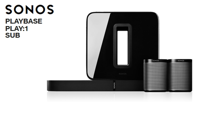 Hardwaretest: SONOS Playbase – Play:1 – Sub – simply clever