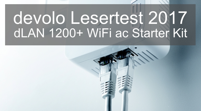 devolo Lesertest – dLAN 1200+ WiFi ac Starter Kit