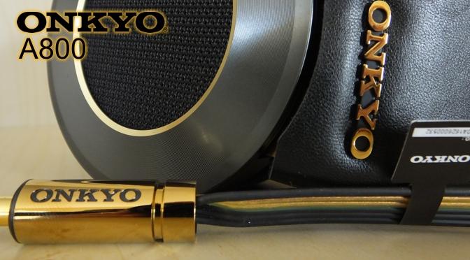 Hardwaretest: Onkyo A800 - mit dem Charme der 80er Jahre