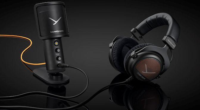 beyerdynamic TEAM TYGR verbindet Gaming Kopfhörer und Mikrofon