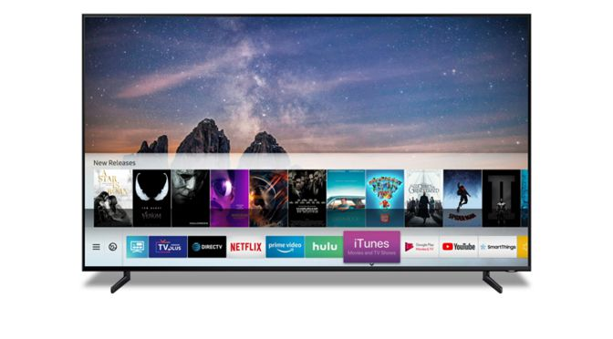 "Samsung Smart TVs unterstützen ""iTunes Movies & TV Shows"" sowie Apple AirPlay 2"