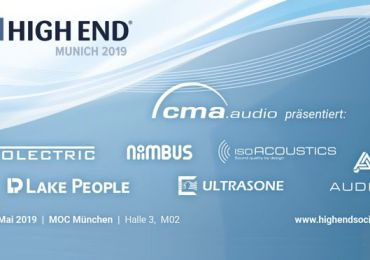 cma audio präsentiert auf der HIGH END 2019 vollendete Klangkunst