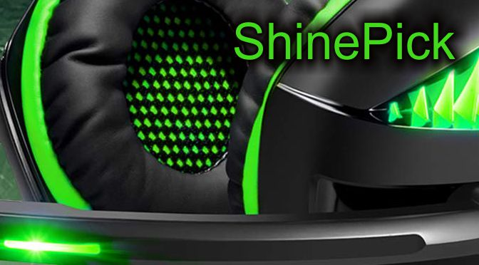Hardwaretest: ShinePick GM-5 Gaming Headset - grell, aber OK