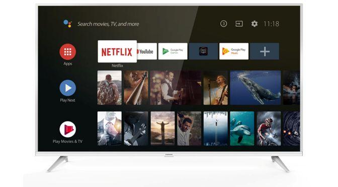 Thomson 55UE6400: Android 9 TV und 4K-Auflösung