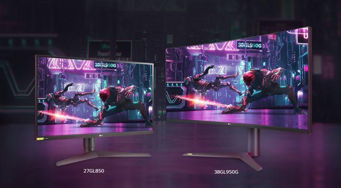 LG ULTRAGEAR: GAMING-MONITORE MIT 1 MS REAKTIONSZEIT AUF DER IFA 2019