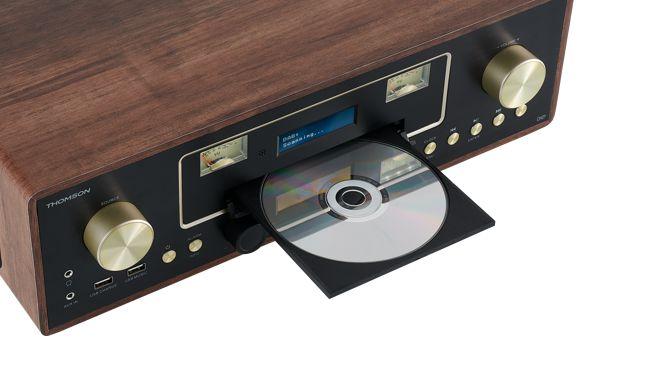 Thomson MIC256: moderne Mikro-Hi-Fi-Anlage im Vintage-Look