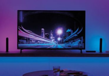 Die Philips Hue Play HDMI Sync Box bringt Home Entertainment auf ein neues Level