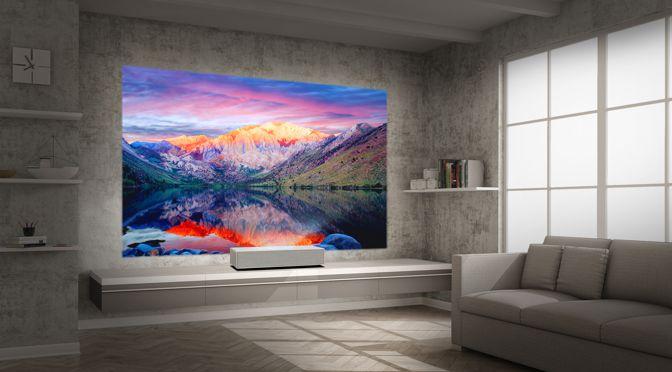 LG CineBeam 4K UHD Projektoren für mehr Komfort und brillante Bilder